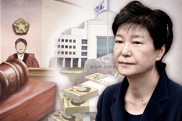 박근혜, '국정농단·특활비' 파기환송심서 징역 20년으로 줄어