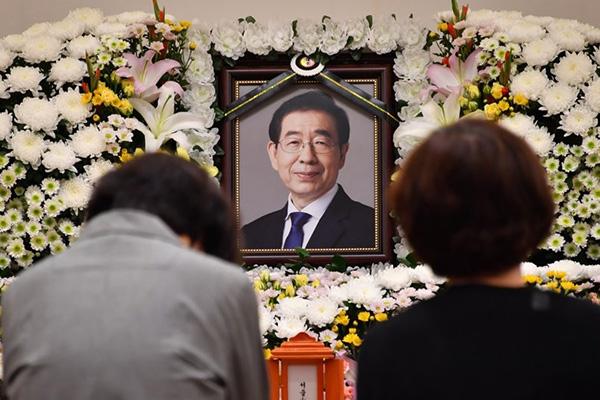Phát hiện thi thể Thị trưởng Seoul sau 7 tiếng nhận khai báo mất tích
