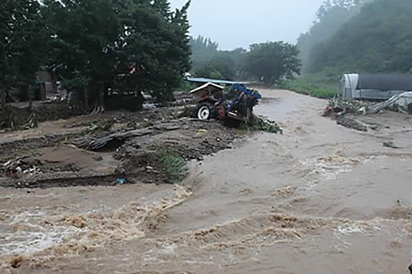 Jangma : toute la Corée du Sud sous la pluie