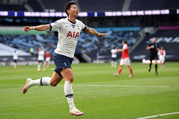 Son Heung-min marque son 10e but et réalise sa 10e passe décisive de la saison