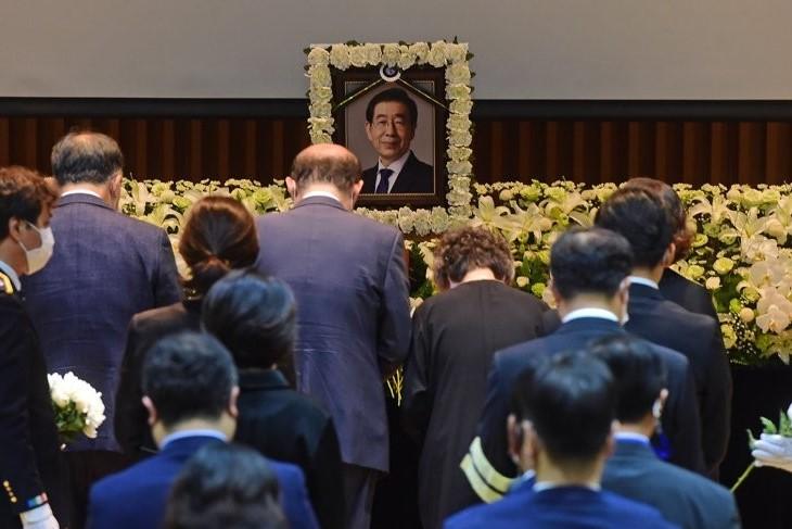 Upacara Pemakaman Almarhum Wali Kota Seoul Telah Diadakan