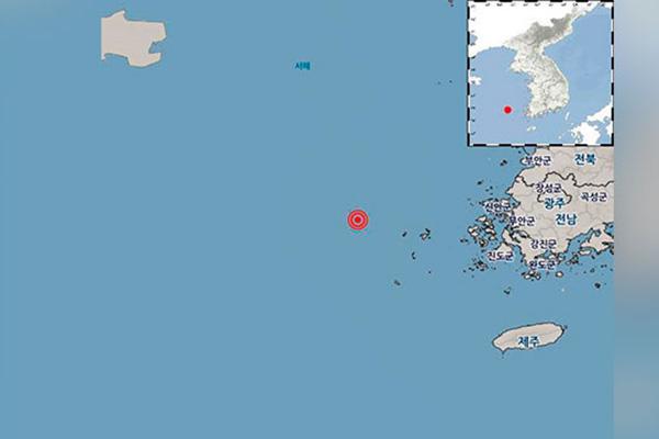 У юго-западного побережья РК произошло землетрясение