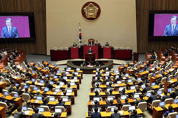 Presidente llama a la cooperación política ante los cambios