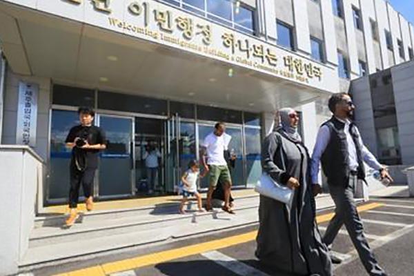 Le nombre de réfugiés autorisés à séjourner en Corée du Sud dépasse la barre des 3000