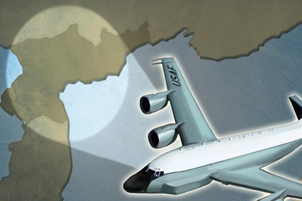 Самолёт-разведчик США облетел Корейский полуостров