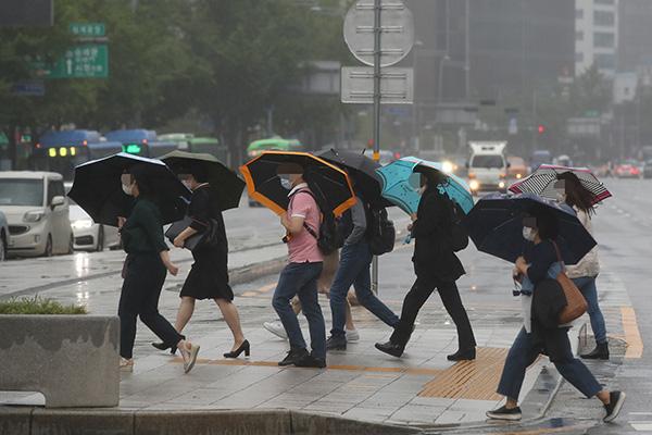 Cảnh báo mưa lớn khu vực phía Nam Hàn Quốc từ đêm 27/7