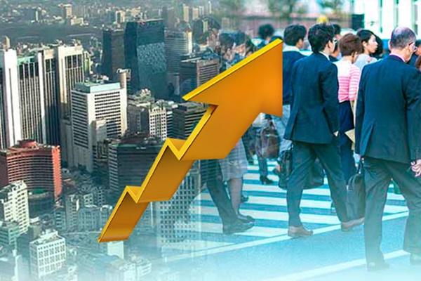 韩集团7月景气实查指数连续3个月上升