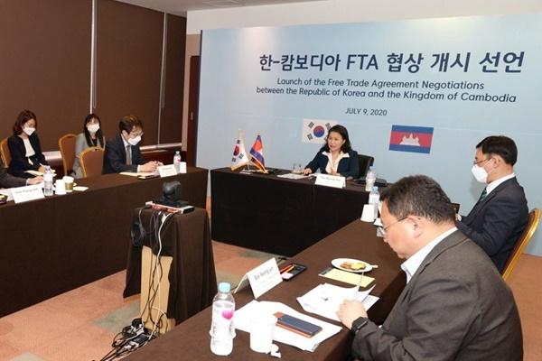 S. Korea, Cambodia to Launch FTA Talks This Week