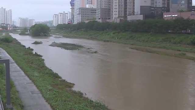 Schwere Regenfälle in den Provinzen Jeolla und Chungcheong