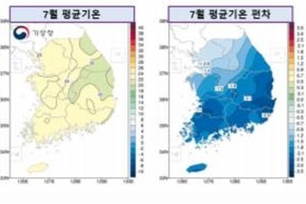 Regenzeit soll in den zentralen Regionen mindestens bis 10. August dauern