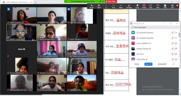 India introduce el coreano como asignatura oficial de lengua extranjera