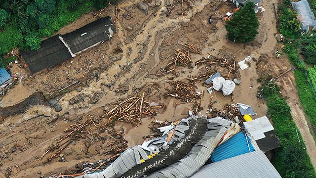 Heavy Rains Batter S. Korea, Leaving 5 Dead