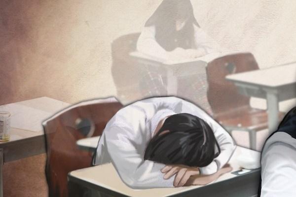 韓国青少年の平均睡眠時間は7時間18分 OECD平均より1時間少ない