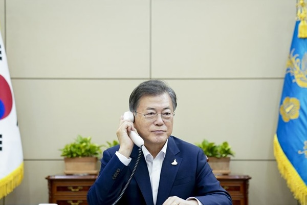 Moon Cancels Summer Vacation amid Damage from Torrential Rains
