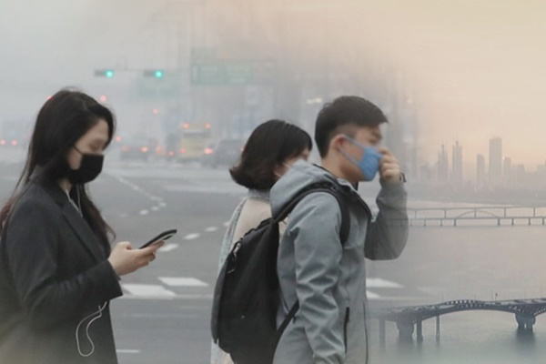 PM2.5による大気汚染 首都圏で110日ぶりに発生