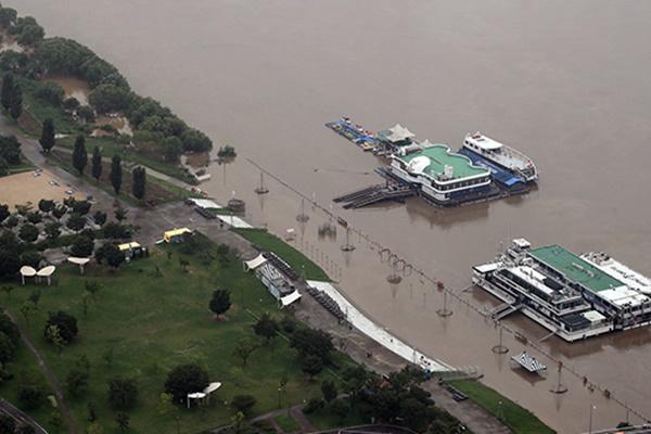 Activan alerta ante posible inundación del río Han