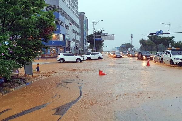 В центральных районах страны продолжатся дожди