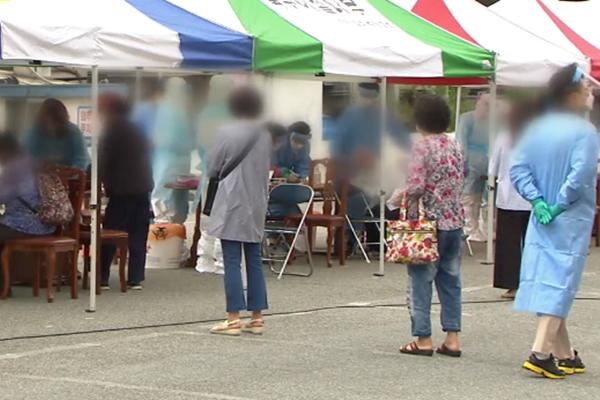 首尔单日新增5例确诊病例 暴雨灾民临时安置点严格防疫