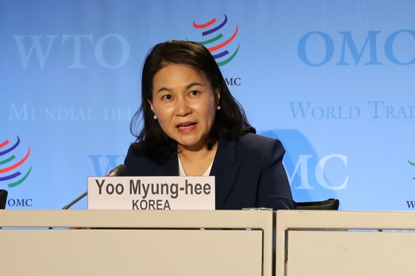 S. Korean Candidate for WTO Chief Seeks Support from Japan