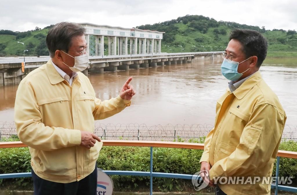 Moon lamenta que Pyongyang no notifique la apertura de presas