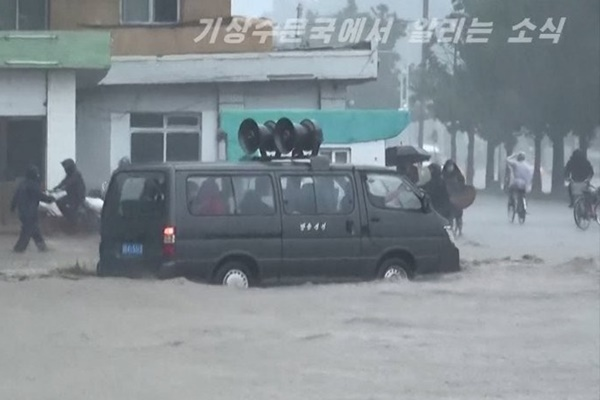 Hujan Deras Turun di Korut Selama Beberapa Hari Terakhir