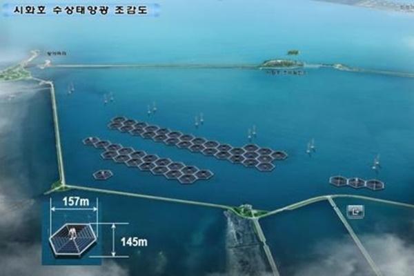 축구장 157개 크기 시화호 태양광발전시설 2026년 완공 전망
