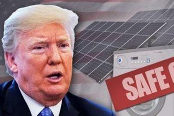 대선 앞둔 트럼프, '아메리카 퍼스트' 재확인…한국 세탁기 예시