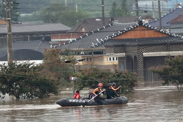 "Six Local Governments in Jeolla Province Blame K-Water for ""Worst Flooding in History"""