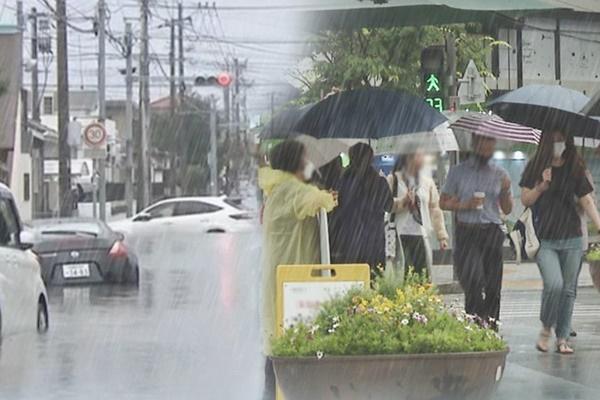 Für heute viel Regen in zentralen Regionen vorhergesagt