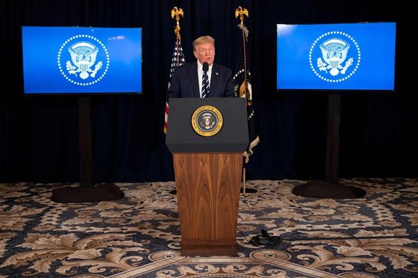 米トランプ大統領 「再選すれば直ちに北韓と交渉する」
