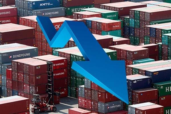 انخفاض مؤشر أسعار الصادرات للمرة الأولى في 3 أشهر في يوليو