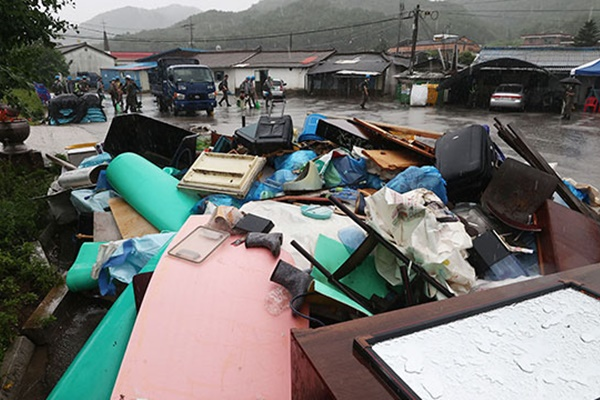 56,1% Fasilitas yang Rusak Akibat Banjir di Korsel Telah Diperbaiki
