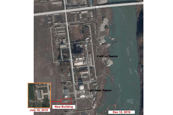 38 North: Flooding of River in Yongbyon Might Have Damaged Nuclear Facilities