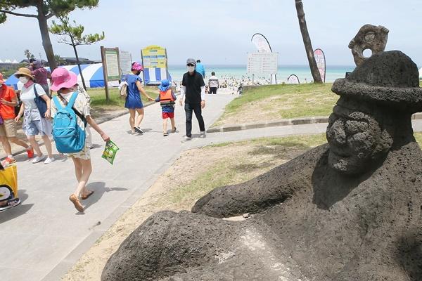 光復節の連休期間 済州島に観光客21万が訪れる見通し