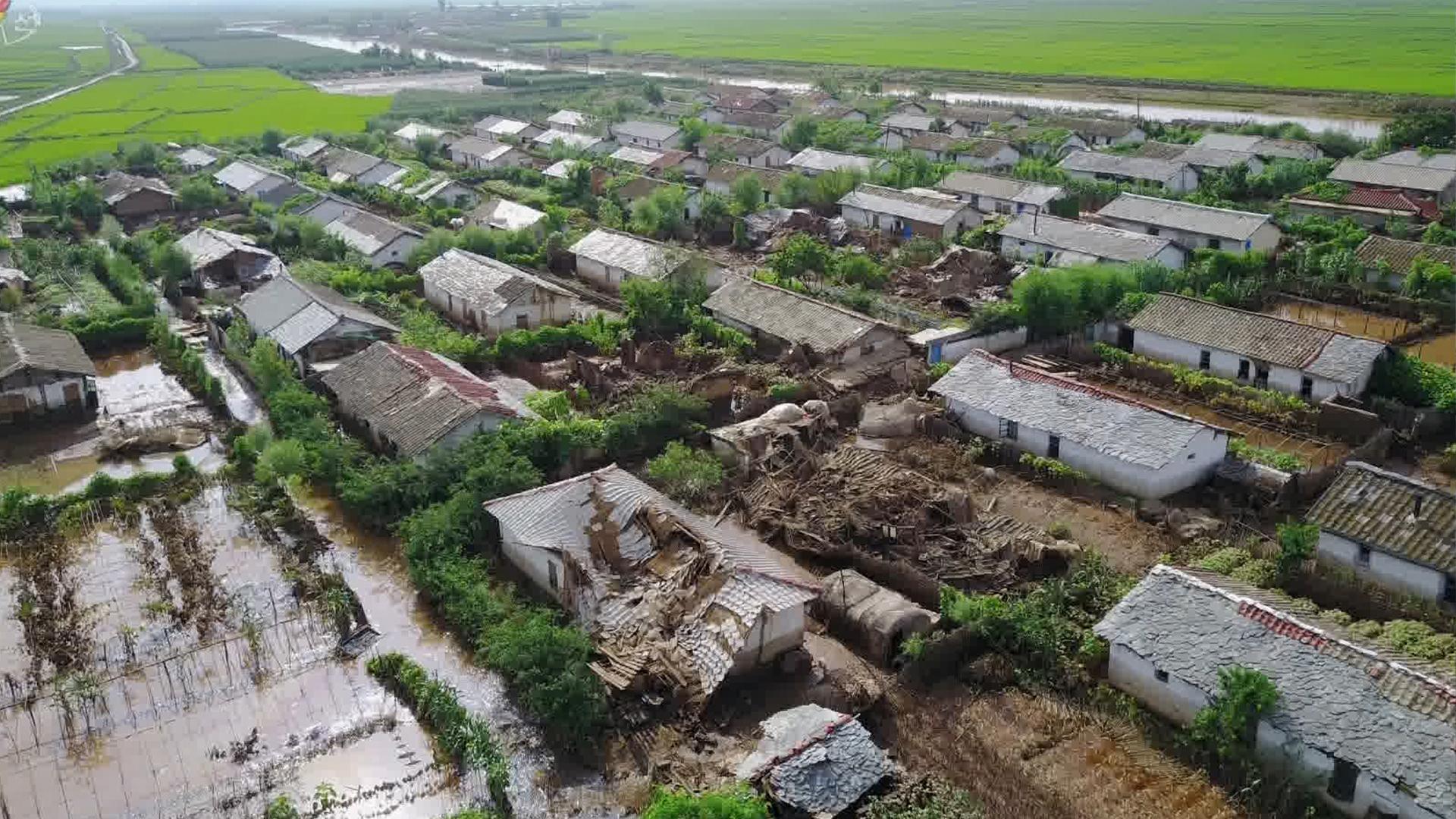 الاتحاد الدولي للصليب الأحمر: 22 قتيلًا و4 مفقودين بسبب الأمطار الغزيرة في كوريا الشمالية