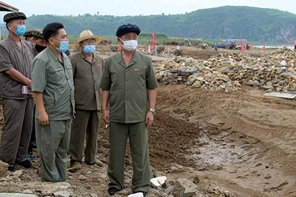 Tân Thủ tướng Bắc Triều Tiên thăm hiện trường khắc phục hậu quả mưa lũ