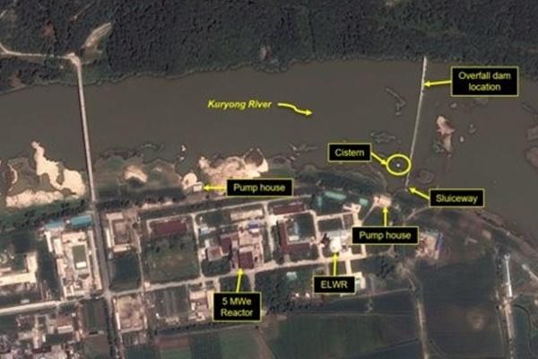 북한 영변 핵단지도 태풍피해…근처 댐에 구멍 나 물부족
