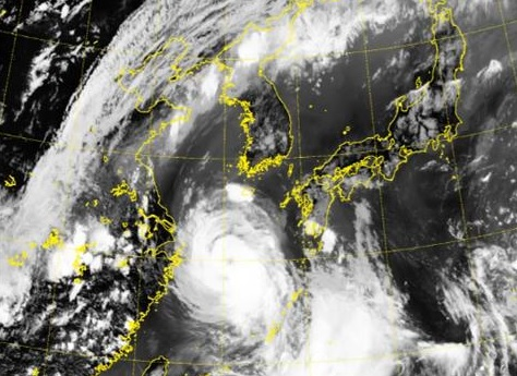 Taifun zieht weiter nach Norden – Unwetter bis Donnerstag