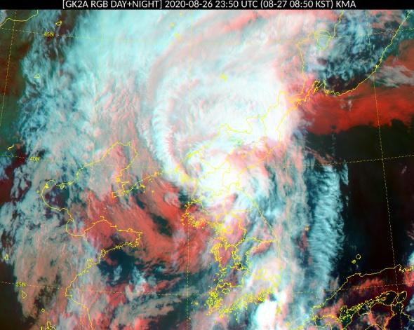 """台风""""巴威""""北上北韩 韩中部地区台风过后将现高温"""