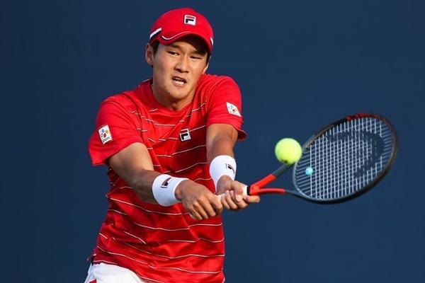 男子テニスのクォン・スヌ 全米オープンで2回戦へ