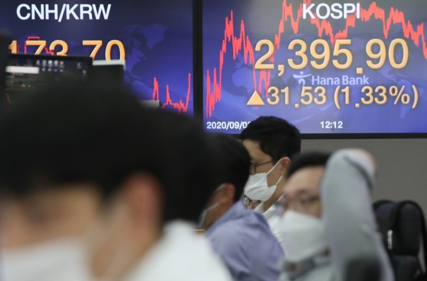 Корейская биржа завершила неделю небольшим подъёмом