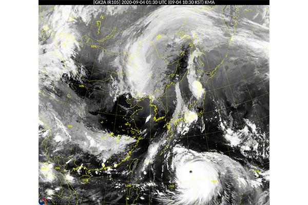 Typhoon Haishen Changes Course, to Skirt S. Korea's East Coast