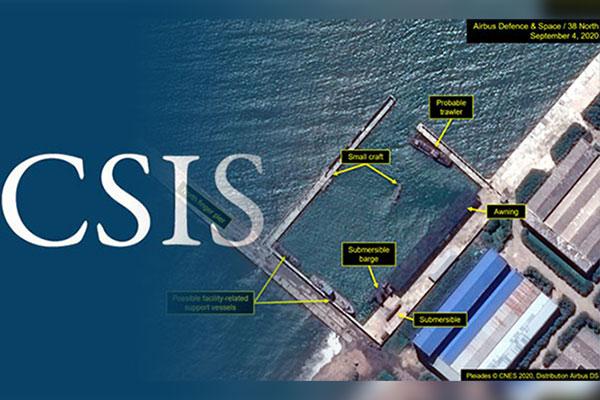 北韓にSLBM発射の動き 米シンクタンクが分析