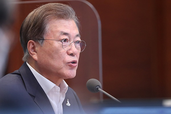 Pres. Moon: Selective Provision of 2nd Relief Payouts Inevitable