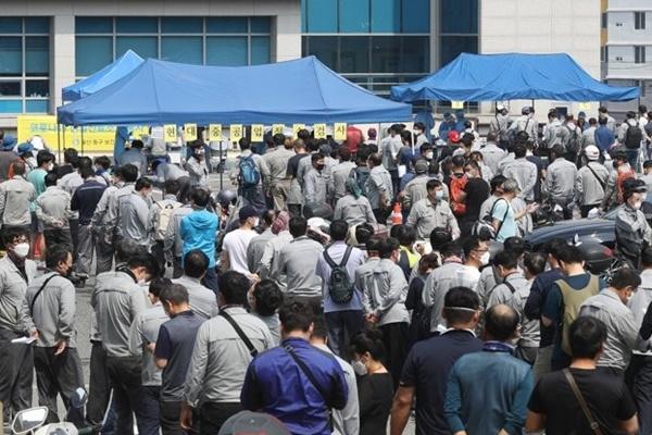 Hàn Quốc ghi nhận 155 ca nhiễm COVID-19 mới trong ngày 9/9