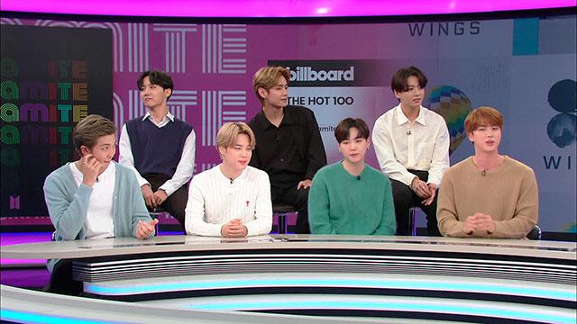 Группа BTS приняла участие в программе KBS