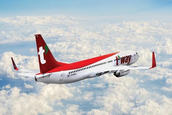 Компания T'way Air начинает выполнять рейсы  в Ухань