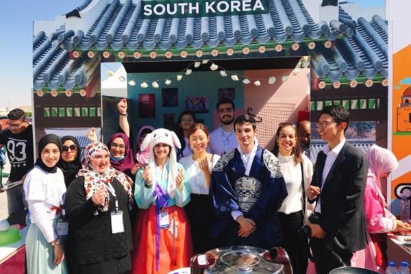 세종학당재단, UAE에 한국어 보급 '아즈만 세종학당' 개원