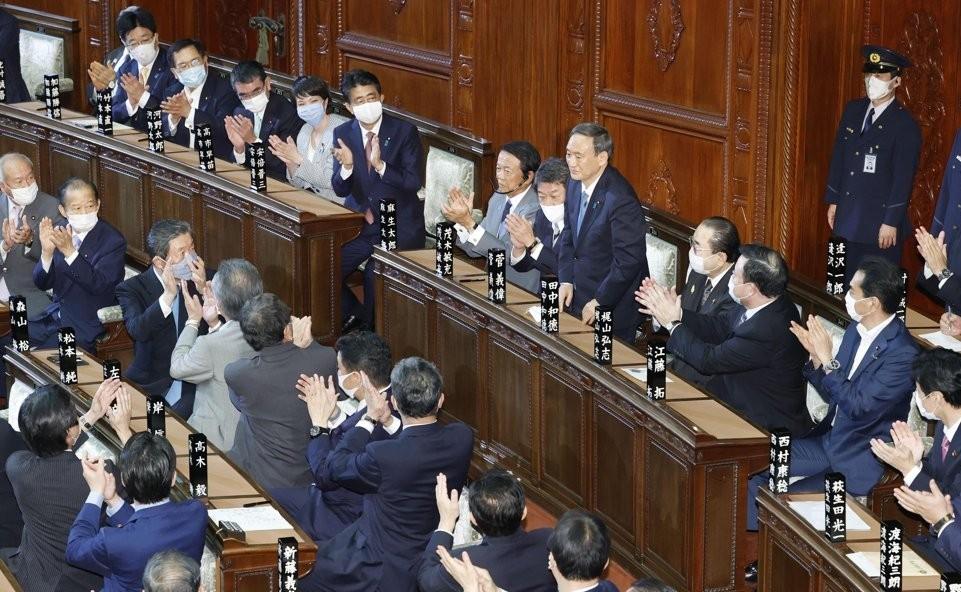 Jepang Resmi Luncurkan Kabinet Baru Setelah Yoshihida Suga Terpilih Menjadi PM