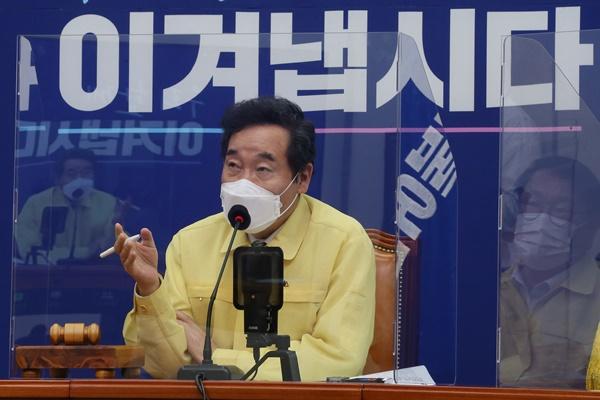 """이낙연 """"일본 스가 내각 출범 축하…적절한 시기에 뵙고 싶다"""""""